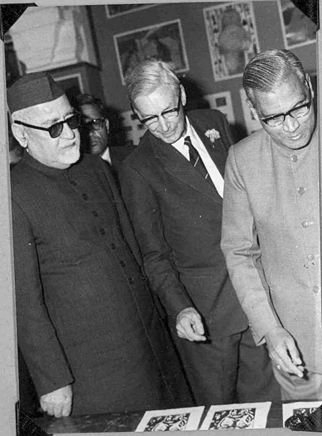 With Zakir Hussain
